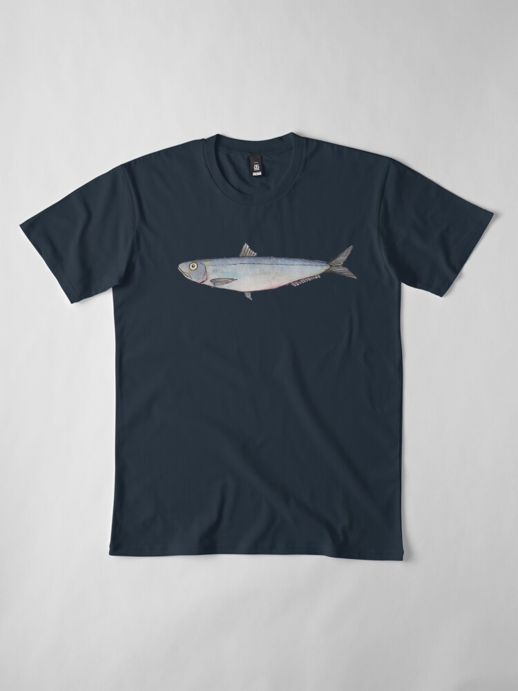 Alternate view of Sardine: Fish of Portugal Premium T-Shirt