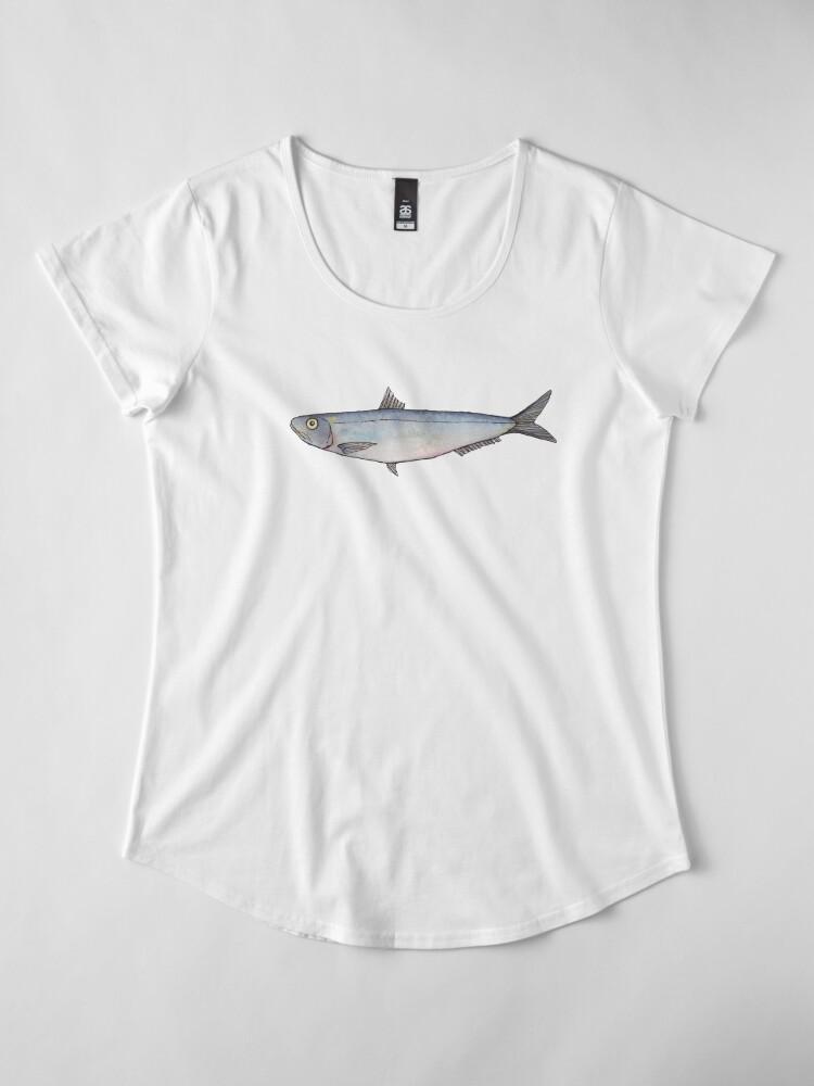 Alternate view of Sardine: Fish of Portugal Women's Premium T-Shirt
