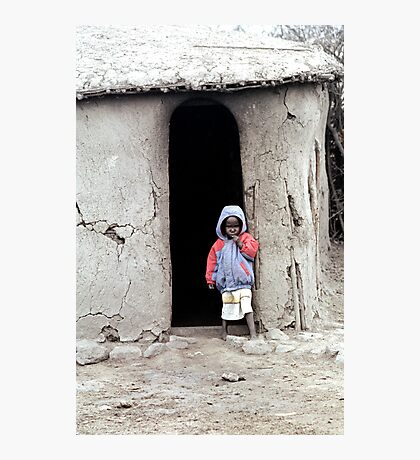 Masai Child Photographic Print