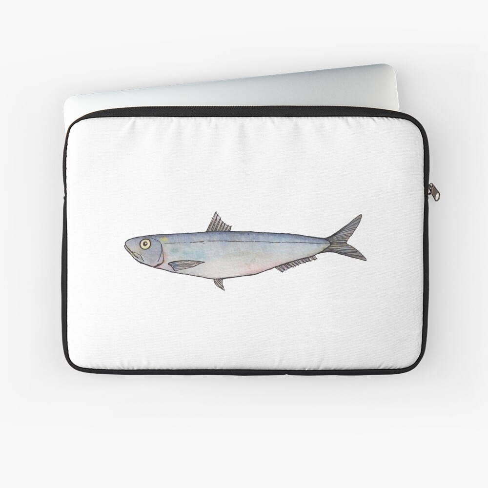 Sardine: Fish of Portugal Laptop Sleeve