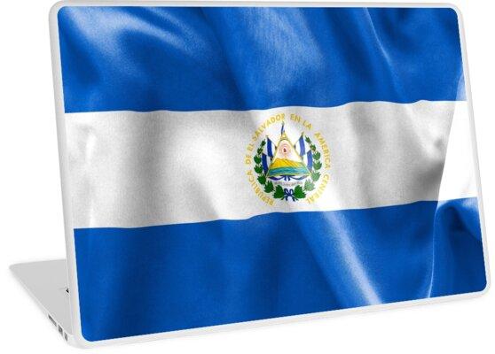 El Salvador Flagge von MarkUK97