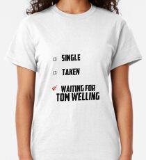 Warten auf Tom Welling Classic T-Shirt