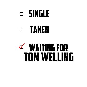Waiting For Tom Welling by NessaElanesse