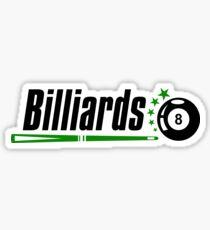 Billiards #redbubble #decor #buyart #artprint Sticker