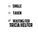 Waiting For Tricia Helfer by NessaElanesse
