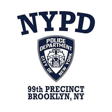 Brooklyn 99 - 99th Precinct by domiellis