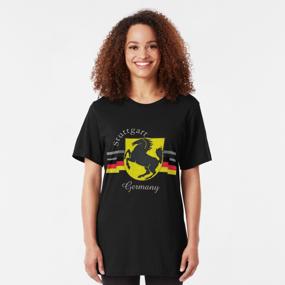 Stuttgart Horse Crest  Slim Fit T-Shirt