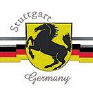 Stuttgart Horse Crest  by edsimoneit