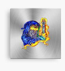 fwc 0061 tatoo magischer zauberer Leinwanddruck
