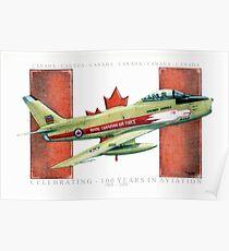 """Canadian Sabre"" Poster"