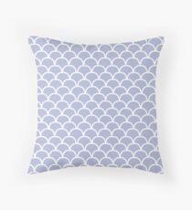 Scallop Pattern Throw Pillow