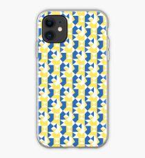 Geometric pattern iPhone Case
