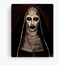 Demonic Sister Valak Canvas Print