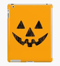 Kürbis Gesicht Halloween iPad-Hülle & Klebefolie