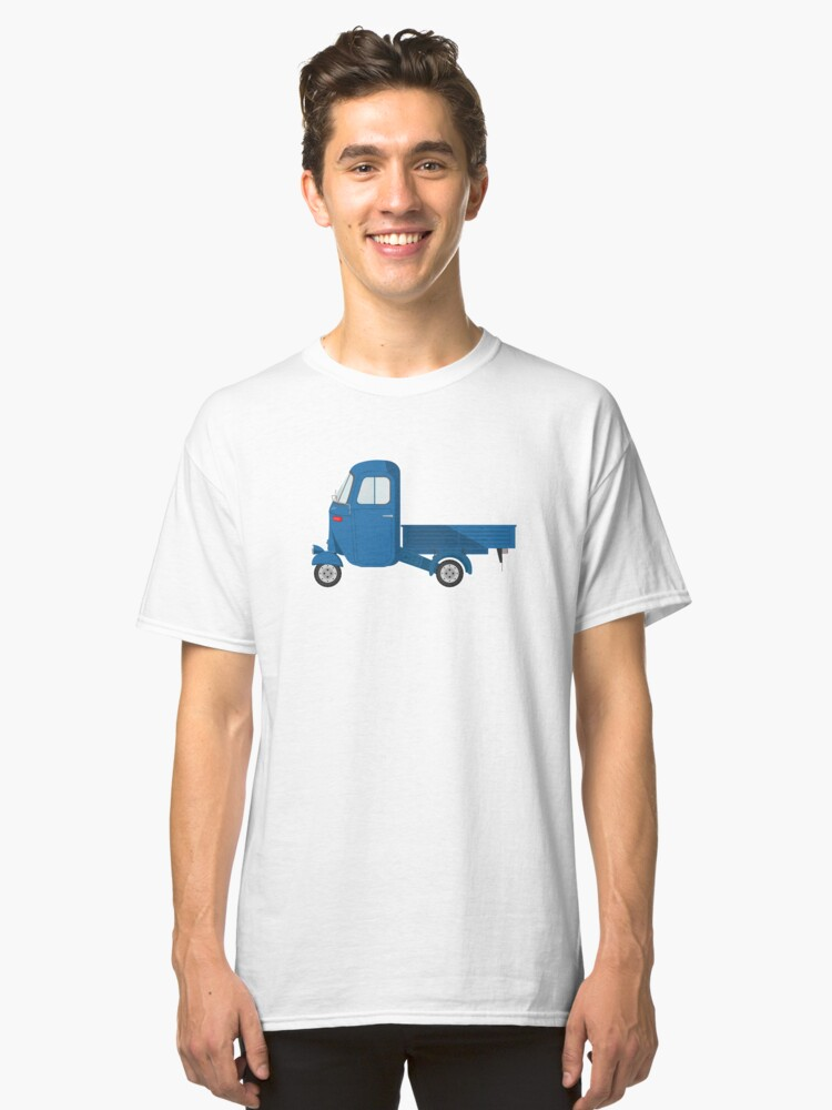 Ape, Scooter, Car, The Ape Car is a 3 wheeled light commercial vehicle Classic T-Shirt Front