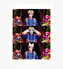 BTS RM (Idol) Art Print