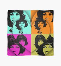 Aretha Franklin, Music Legend - Pop Art Scarf