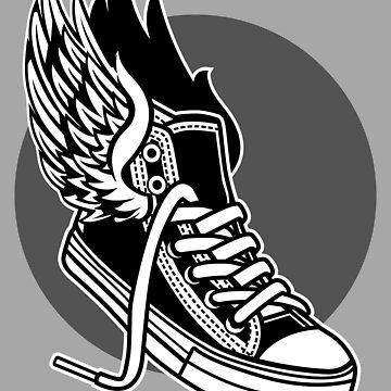 Sneaker Wings by Skullz23