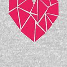 Geometric shaped heart by JollyJungle