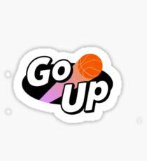 we go up  Sticker