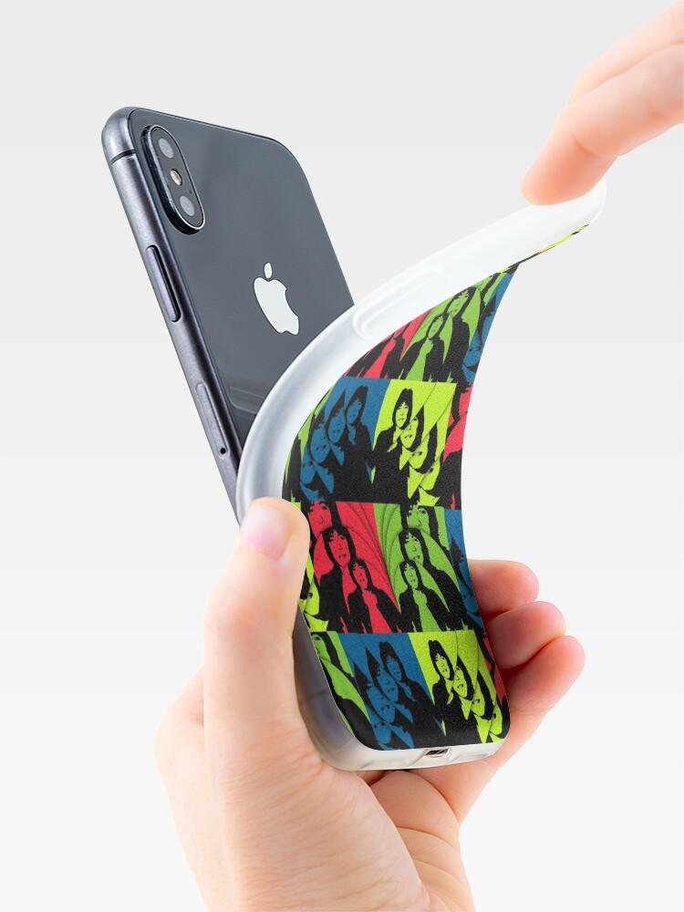 Alternative Ansicht von David Cassidy, Hollywood Star - Pop Art iPhone-Hülle & Cover