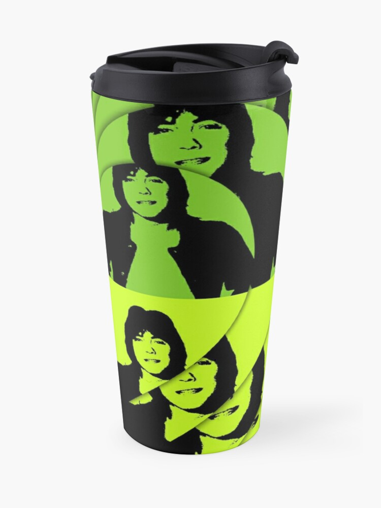 Alternative Ansicht von David Cassidy, Hollywood Star - Pop Art Thermobecher