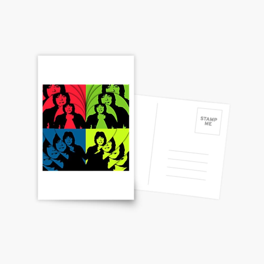 David Cassidy, Hollywood Star - Pop Art Postkarte