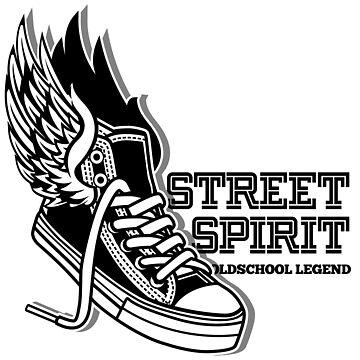 Street Spirit - Old School Legend by Skullz23