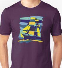 Geometric ship Slim Fit T-Shirt