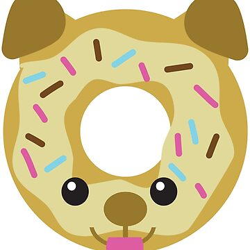 Vanilla Dognut by awkwarddesignco