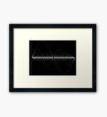 The Harmonic Series Framed Print