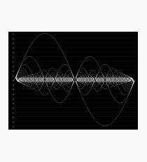 The Harmonic Series Photographic Print