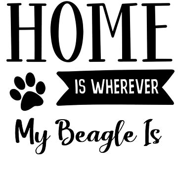 Beagle Home by mclaurin612