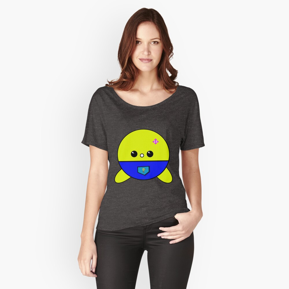 Face cute Women's Relaxed Fit T-Shirt Front