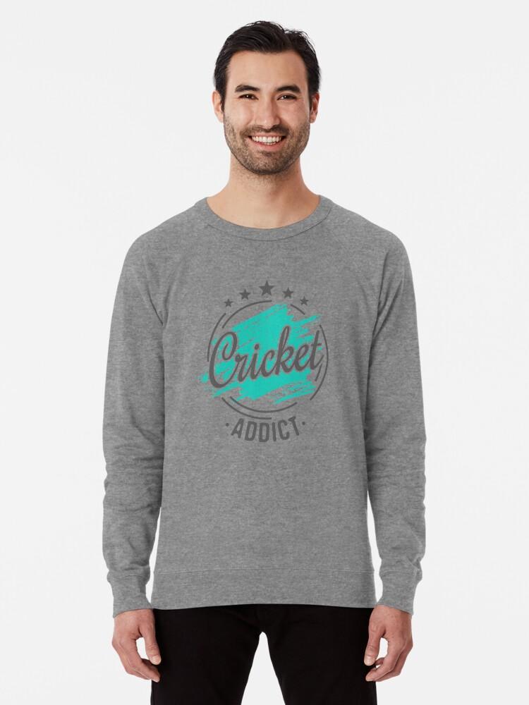 aa8822e10 Cricket Addict T-Shirt - Cool Funny Nerdy Humor Retro Vintage Cricket Player  Coach Team