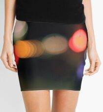Blurred Lights, By Night Mini Skirt