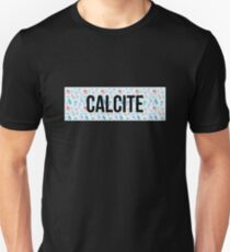 Calcit Mineral Design Slim Fit T-Shirt