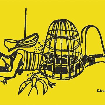 John Minton - Boy & Lobster by mbalax