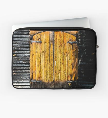Barn Doors Laptop Sleeve
