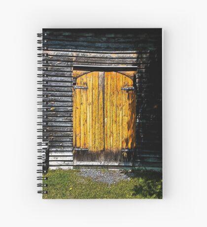 Barn Doors Spiral Notebook