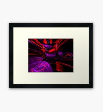 Psychedelic Abstract Framed Print