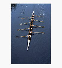Mens 8 rowing Photographic Print