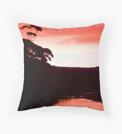 Sunset over the Thurra - Croajingolong National Park  Throw Pillow