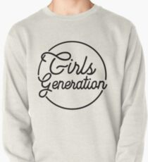GIRLS GENERATION HOLIDAY NIGHT BLACK Pullover