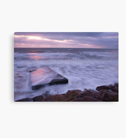 Blackwater beach at dawn, County Wexford, Ireland Canvas Print
