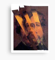 Charles Dickens. Metal Print