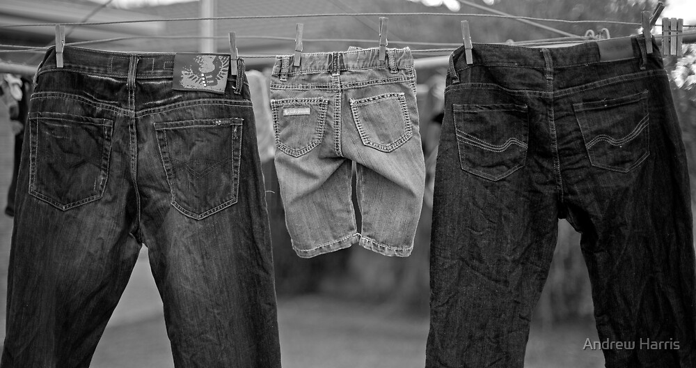 It's in our jeans by Andrew Harris