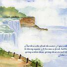 Living Water: John 4:14 by Diane Hall