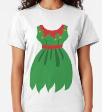 Elf Women Holiday Party Costume Classic T-Shirt