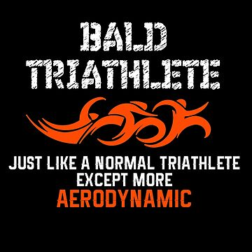 Aerodynamic Bald Triathlete by triharder12